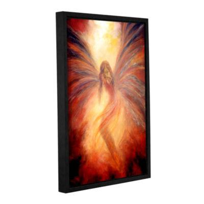 Brushstone Fallen Angel Gallery Wrapped Floater-Framed Canvas Wall Art