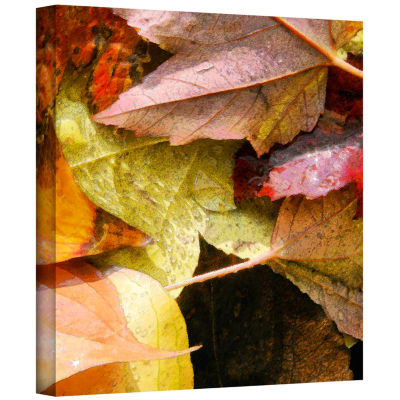 Brushstone Fall Impression 7 Gallery Wrapped Canvas Wall Art