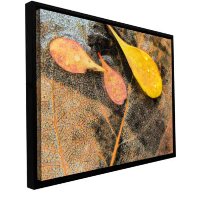 Brushstone Fall Impression 6 Gallery Wrapped Floater-Framed Canvas Wall Art
