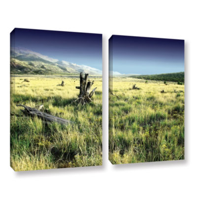 Brushstone Fall Creeps 2-pc. Gallery Wrapped Canvas Wall Art