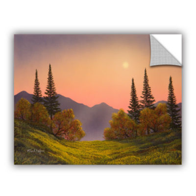 Brushstone Fading Light Removable Wall Decal