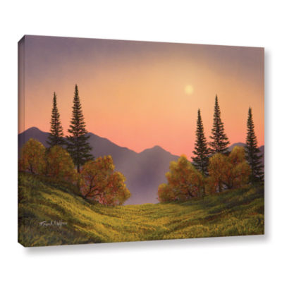 Brushstone Fading Light Gallery Wrapped Canvas Wall Art