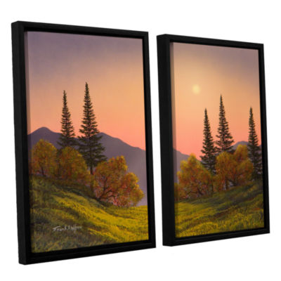 Brushstone Fading Light 2-pc. Floater Framed Canvas Wall Art