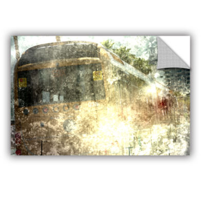 Brushstone Wall Decal