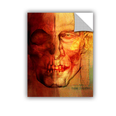 Brushstone Facial Anatomy Removable Wall Decal