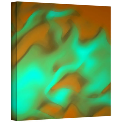 Brushstone Fabric Study Gallery Wrapped Canvas Wall Art