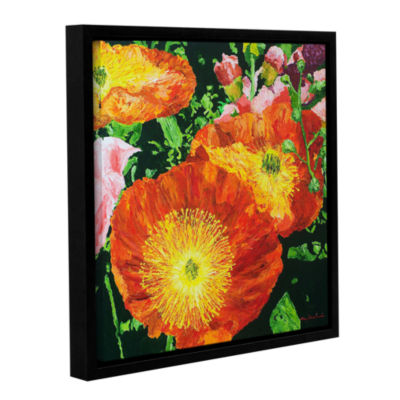 Brushstone Exuberance Is Beauty Gallery Wrapped Floater-Framed Canvas Wall Art