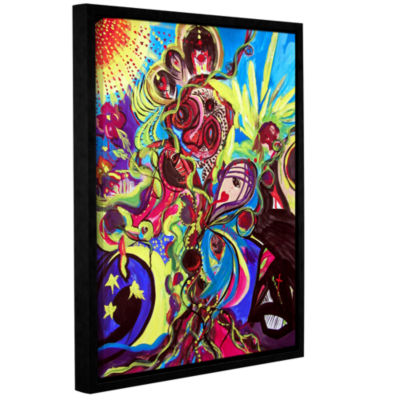 Brushstone Experimenting With Creation Gallery Wrapped Floater-Framed Canvas Wall Art