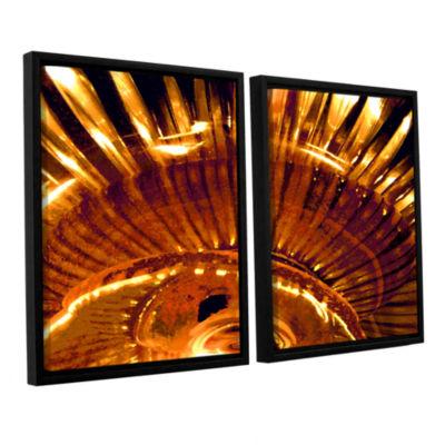 Brushstone Energy Actualized 2-pc. Floater FramedCanvas Wall Art