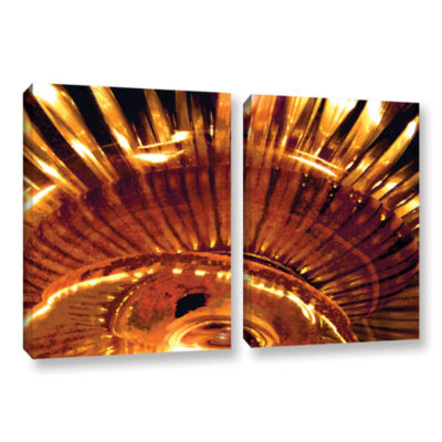 Brushstone Energy Actualized 2-pc. Gallery WrappedCanvas Wall Art