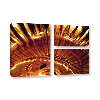 Brushstone Energy Actualized 3-pc. Flag Gallery Wrapped Canvas Wall Art