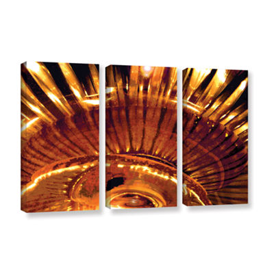 Brushstone Energy Actualized 3-pc. Gallery Wrapped Canvas Wall Art