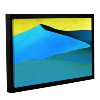 Brushstone Evening At The Dunes Gallery Wrapped Floater-Framed Canvas Wall Art