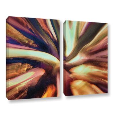 Brushstone Espectro Suculenta 2-pc. Gallery Wrapped Canvas Wall Art