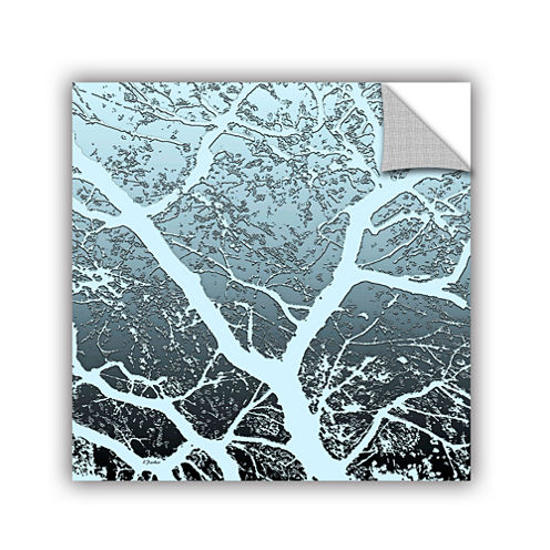 Brushstone Evening Light On Tree Removable Wall Decal