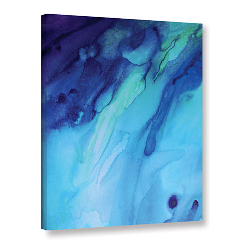 Brushstone Evening Rain Gallery Wrapped Canvas Wall Art