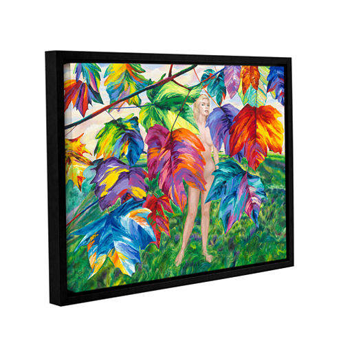 Brushstone Eve Gallery Wrapped Floater-Framed Canvas Wall Art