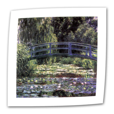 Brushstone Eve In The Meadow Of Giverny Canvas Wall Art