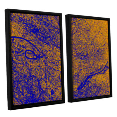 Brushstone Entangled 2-pc. Floater Framed Canvas Wall Art