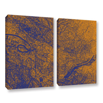 Brushstone Entangled 2-pc. Gallery Wrapped CanvasWall Art