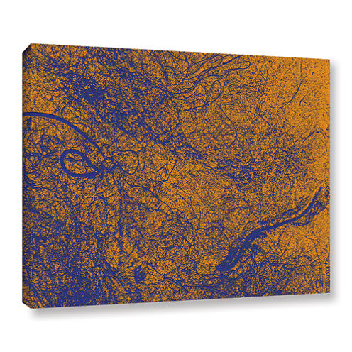 Brushstone Entangled Gallery Wrapped Canvas Wall Art