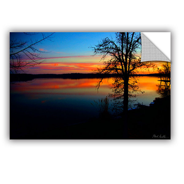 Brushstone Evening Sunset Removable Wall Decal