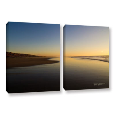 Brushstone Equihen Plage 2-pc. Gallery Wrapped Canvas Wall Art