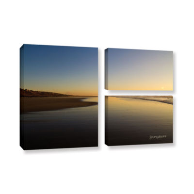 Brushstone Equihen Plage 3-pc. Flag Gallery Wrapped Canvas Wall Art