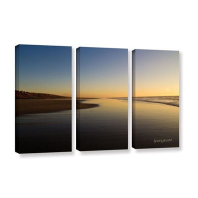 Brushstone Equihen Plage 3-pc. Gallery Wrapped Canvas Wall Art