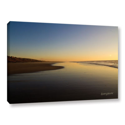 Brushstone Equihen Plage Gallery Wrapped Canvas Wall Art