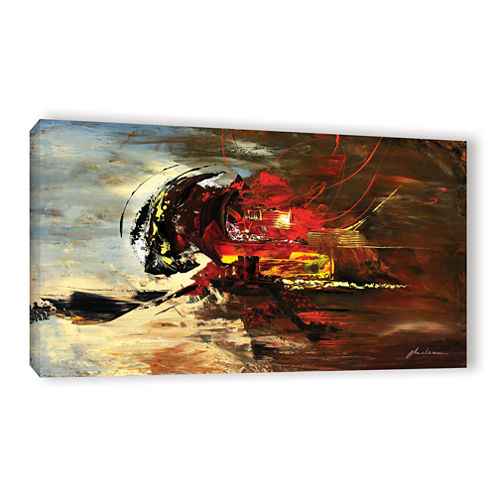 Brushstone Error 404 Gallery Wrapped Canvas Wall Art