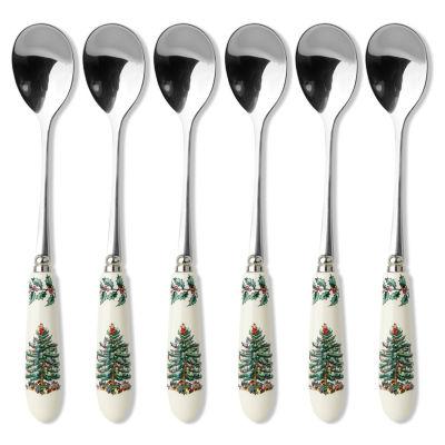 Spode® Christmas Tree Set of 6 Tea Spoons