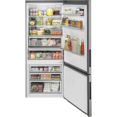 Haier 15 Cu.Ft. Bottom Mount Refrigerator