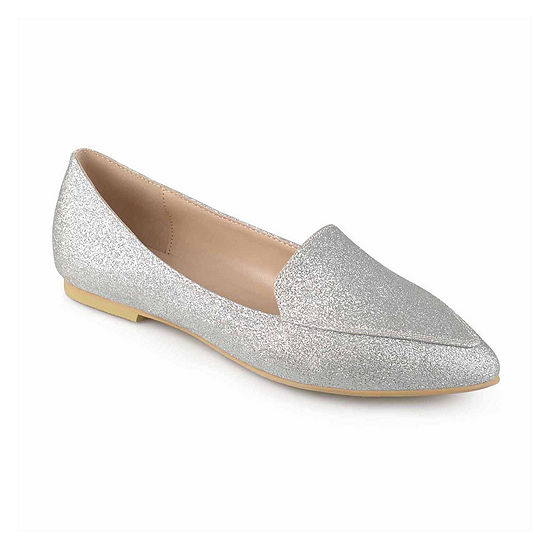Journee Collection Womens Kinley Loafers Pointed Toe