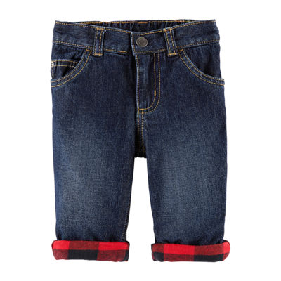 Carter's Holiday Denim Pants Baby Boys
