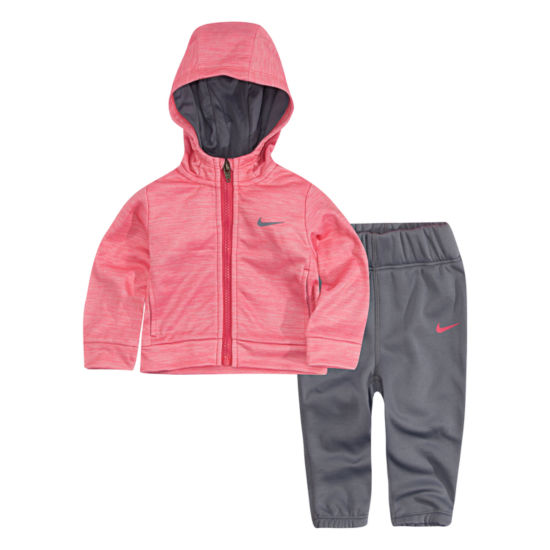 Nike 2-pc. Logo Pant Set - Toddler Girls