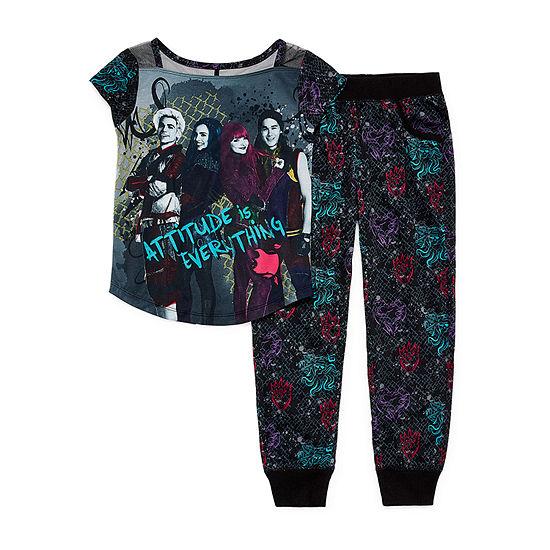 Disney 2-pc. Descendants Pajama Set Preschool   Big Kid Girls - JCPenney f08d252de