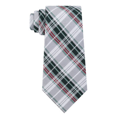 Stafford Dinner Party Ii Plaid Tie