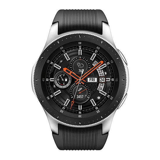 Samsung Galaxy Unisex Black Smart Watch-Sm-R800nzsaxar