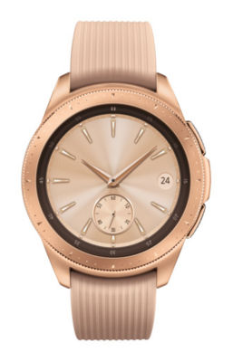 Samsung Galaxy Unisex Rose Goldtone Smart Watch-Sm-R810nzdaxar
