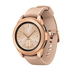 Samsung Galaxy Unisex Adult Multi-Function Rose Goldtone Smart Watch-Sm-R810nzdaxar