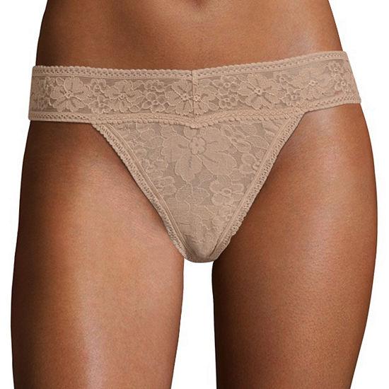 Ambrielle Lace Thong Panty Rj16j040