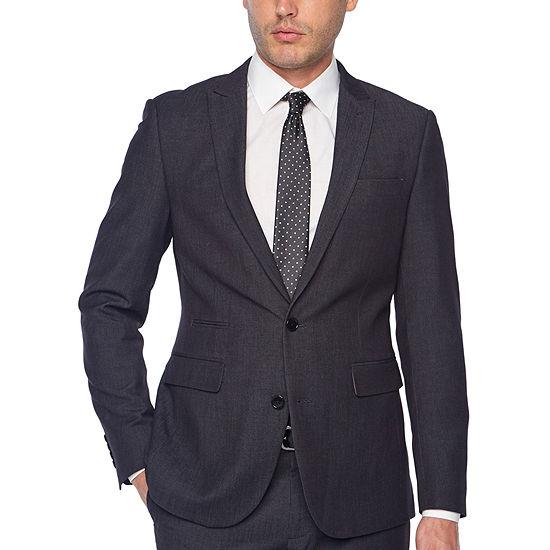 JF J.Ferrar Dots Super Slim Fit Stretch Suit Jacket