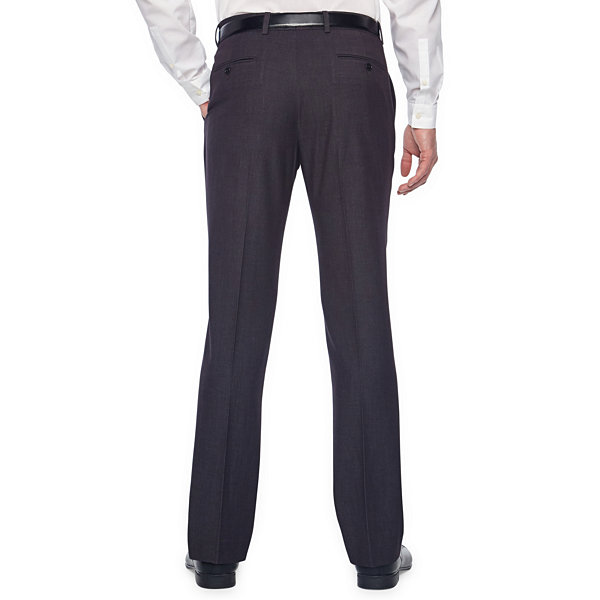 JF J.Ferrar Dots Super Slim Fit Stretch Suit Pants