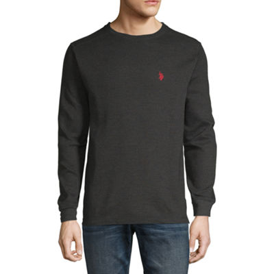 U.S. Polo Assn. Mens Crew Neck Long Sleeve Thermal Top