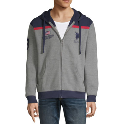 U.S. Polo Assn. Mens Long Sleeve Hooded Embroidered Hoodie