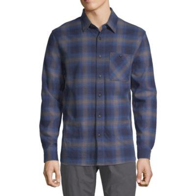 Boston Traders Mens Long Sleeve Flannel Shirt