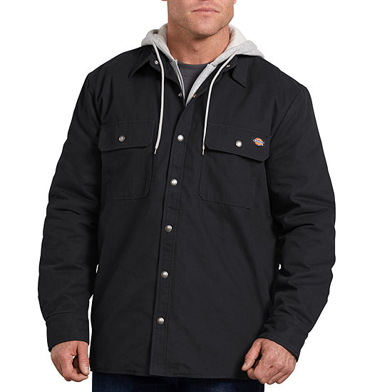 Dickies® Relaxed Fit Icon Hooded Duck Quilted Shirt Jacket