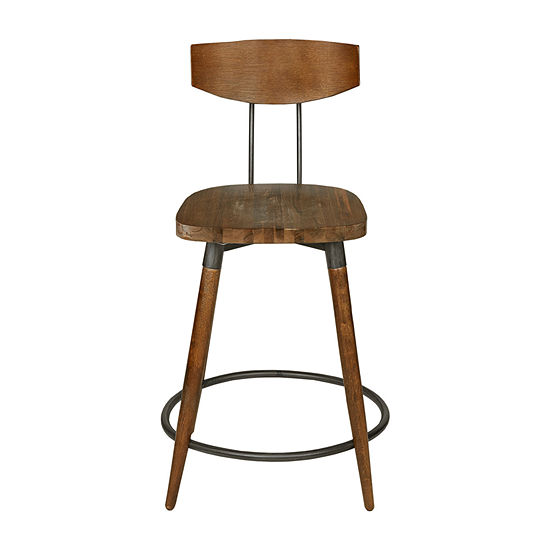 INK+IVY Frazier Counter Height Bar Stool