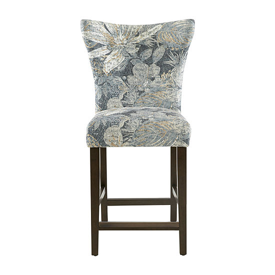 Madison Park Dave Counter Height Upholstered Bar Stool